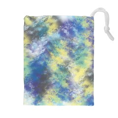 Abstract #17 Drawstring Pouches (Extra Large)