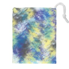 Abstract #17 Drawstring Pouches (XXL)
