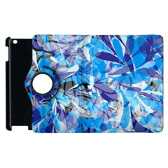 Abstract Floral Apple Ipad 3/4 Flip 360 Case