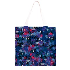 Abstract Floral #3 Grocery Light Tote Bag