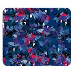 Abstract Floral #3 Double Sided Flano Blanket (small)