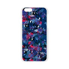 Abstract Floral #3 Apple Seamless iPhone 6/6S Case (Transparent)