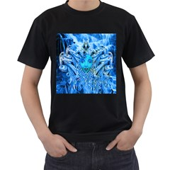 Medusa Metamorphosis Men s T Shirt (black) (two Sided)