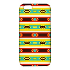 Rhombus stripes and other shapes 			iPhone 6/6S TPU Case