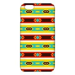 Rhombus stripes and other shapes 			iPhone 6 Plus/6S Plus TPU Case