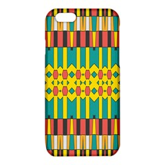 Shapes and stripes  			iPhone 6/6S TPU Case