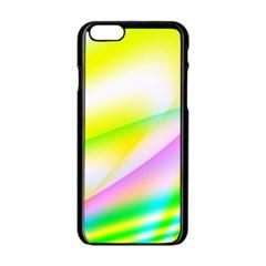 New 4 Apple Iphone 6/6s Black Enamel Case