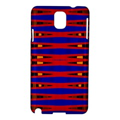 Bright Blue Red Yellow Mod Abstract Samsung Galaxy Note 3 N9005 Hardshell Case