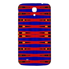 Bright Blue Red Yellow Mod Abstract Samsung Galaxy Mega I9200 Hardshell Back Case