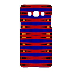Bright Blue Red Yellow Mod Abstract Samsung Galaxy A5 Hardshell Case
