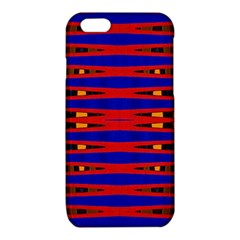 Bright Blue Red Yellow Mod Abstract iPhone 6/6S TPU Case