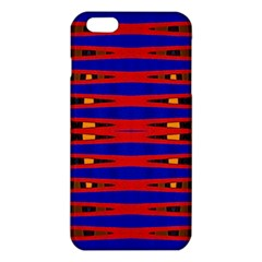 Bright Blue Red Yellow Mod Abstract Iphone 6 Plus/6s Plus Tpu Case