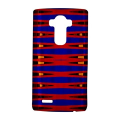 Bright Blue Red Yellow Mod Abstract LG G4 Hardshell Case