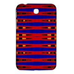 Bright Blue Red Yellow Mod Abstract Samsung Galaxy Tab 3 (7 ) P3200 Hardshell Case