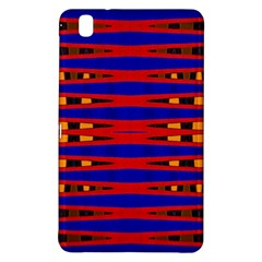 Bright Blue Red Yellow Mod Abstract Samsung Galaxy Tab Pro 8 4 Hardshell Case