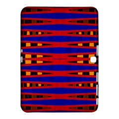Bright Blue Red Yellow Mod Abstract Samsung Galaxy Tab 4 (10 1 ) Hardshell Case