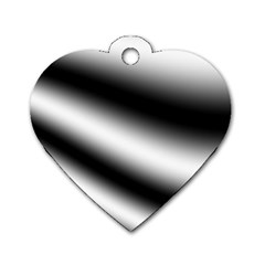 New 15 Dog Tag Heart (one Side)