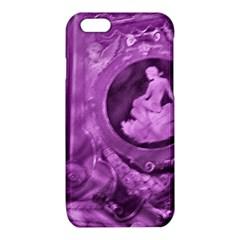 Vintage Purple Lady Cameo iPhone 6/6S TPU Case