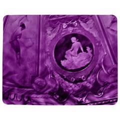 Vintage Purple Lady Cameo Jigsaw Puzzle Photo Stand (rectangular)
