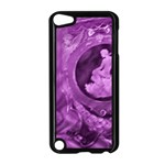 Vintage Purple Lady Cameo Apple iPod Touch 5 Case (Black) Front