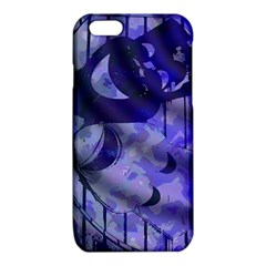 Blue Theater Drama Comedy Masks iPhone 6/6S TPU Case