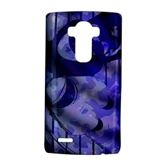 Blue Theater Drama Comedy Masks Lg G4 Hardshell Case
