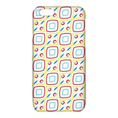 Squares rhombus and circles pattern  iPhone 6/6S TPU Case