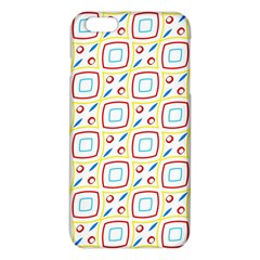 Squares Rhombus And Circles Pattern  			iphone 6 Plus/6s Plus Tpu Case