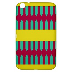 Stripes And Other Shapes   samsung Galaxy Tab 3 (8 ) T3100 Hardshell Case