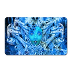 Medusa Metamorphosis Magnet (rectangular)