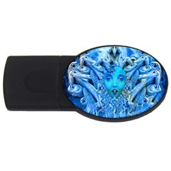 Medusa Metamorphosis Usb Flash Drive Oval (2 Gb)