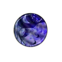 Blue Theater Drama Comedy Masks Hat Clip Ball Marker (4 Pack)