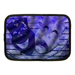 Blue Comedy Drama Theater Masks Netbook Case (Medium)  Front