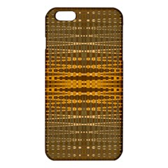 Yellow Gold Khaki Glow Pattern iPhone 6 Plus/6S Plus TPU Case