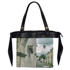 Colonial Street Of Arequipa City Peru Office Handbags (2 Sides)