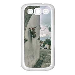 Colonial Street Of Arequipa City Peru Samsung Galaxy S3 Back Case (white)