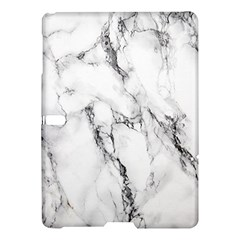 White Marble Stone Print Samsung Galaxy Tab S (10.5 ) Hardshell Case