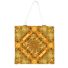 Digital Abstract Geometric Collage Grocery Light Tote Bag
