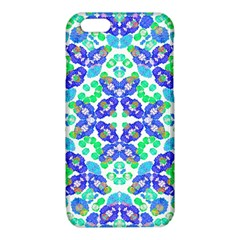 Stylized Floral Check Seamless Pattern iPhone 6/6S TPU Case