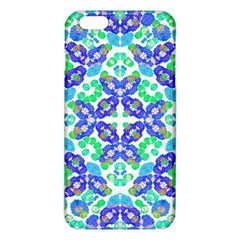 Stylized Floral Check Seamless Pattern Iphone 6 Plus/6s Plus Tpu Case