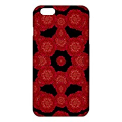 Stylized Floral Check iPhone 6 Plus/6S Plus TPU Case
