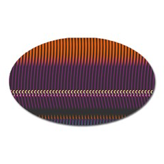 Curvy Stripes       			magnet (oval)