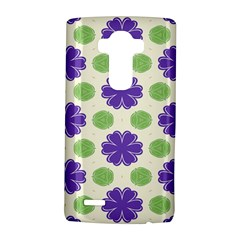 Purple flowers pattern        			LG G4 Hardshell Case