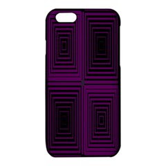 Purple black rectangles         			iPhone 6/6S TPU Case
