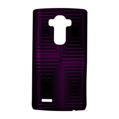 Purple black rectangles         LG G4 Hardshell Case