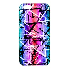 Multicolor Geometric Grunge iPhone 6/6S TPU Case