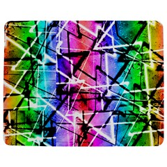 Multicolor Geometric Grunge Jigsaw Puzzle Photo Stand (rectangular)