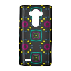 Squares And Circles Pattern 			lg G4 Hardshell Case
