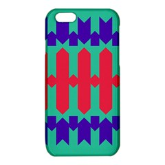 Purple yellow shapes  iPhone 6/6S TPU Case