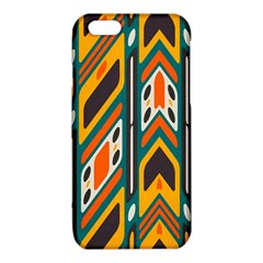 Distorted shapes in retro colors   			iPhone 6/6S TPU Case